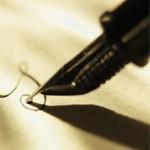 golden fountain pen