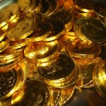 smaller beautiful gold coins