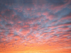 smaller pink clouds